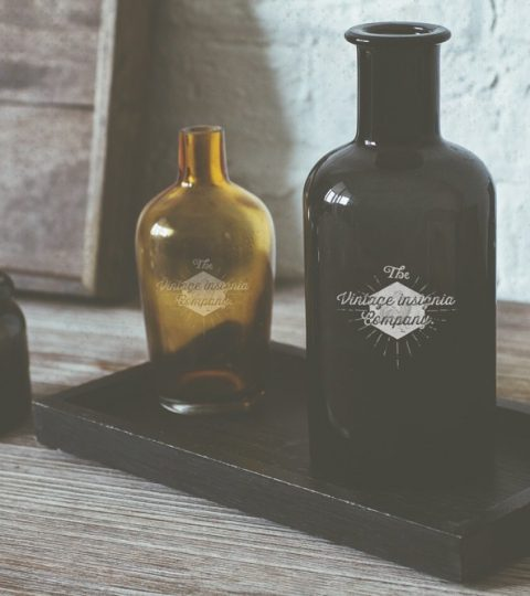 Vintage Apothecary Bottles